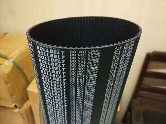 Neoprene Body Durable Rubber Transmission Belt Glass / Kevlar / Aramid Cord